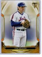 Tom Seaver 2019 Topps Triple Threads 5x7 Gold #18 /10 Mets