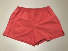 Vintage 80s 90s Banana Republic Safari & Travel Clothing Red Shorts Adult Size L