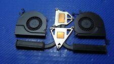 """MacBook Pro A1286 MD318LL/A 2011 13"""" Left/Right Fans Heatsink 922-9753 922-8703"""