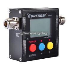 Surecom SW-102 125-525Mhz Digital VHF/UHF Antenna SWR Meter 2-Way Radio