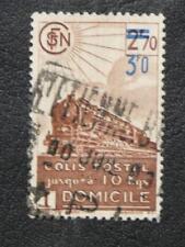 TIMBRES DE FRANCE : 1943 COLIS POSTAUX YVERT N° 204 Oblit. 3F.00 sur 2F.70 BRUN