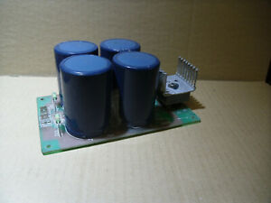 Gleichrichter Netzteil Platine bis +/-100 oder +200vdc 25a  Bell Audio