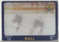 1997-98 UPPER DECK DIAMOND VISION BRETT HULL SIGNATURE MOVES