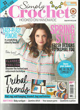 SIMPLY CROCHET, HOOKED ON HANDMADE,   ISSUE 55      SPRING STYLE * TRIBAL TRENDS