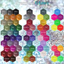 5x XL 100G Bags Premium Holographic, Iridescent, Neon, Fluorescent Fine Glitter