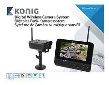 Europower Digitales Funkkamera-Set 2.4 Ghz 1 x Kamera Wireless 2.4 Ghz 1/4 CMOS