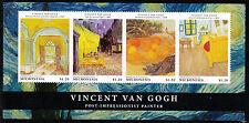 Micronesia 2013 estampillada sin montar o nunca montada Vincent van Gogh 4 V m/s i Arte pinturas sellos