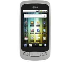 Téléphones mobiles argentés LG