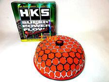 "HKS 3"" Inch Turbo Air Inlet Filter Red JDM Super Power Flow Reloaded Kit 200MM"