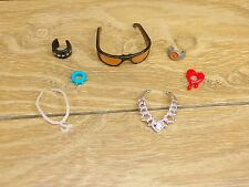 Barbie Monster High Doll Sunglasses Necklace Bracelet Watch Accessorie x7