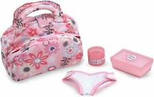 Melissa and Doug Doll Nappy Changing Set Family Fun Kids Baby Doll Change Kit