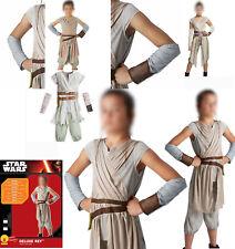 Star Wars + Rey De luxe + Costume per bambine TAGLIA TG. 7 - 8 anni festa cinema