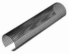 Laubschutzgitter Dachrinnenschutz 2m NW 150/180=125-180mm, 1 Stück Schwarz INEFA