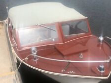1961 Thompson Sea Lancer Twin Engines wooden boat wood