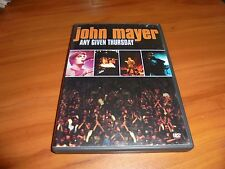 John Mayer - Any Given Thursday (DVD, 2003) Used Live Birmingham AL