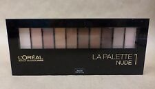 Loreal Colour Riche La Palette Nude 1 Brush and Mirror Included New Exp 01/18 +