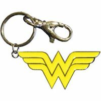 WONDER WOMAN LOGO - METAL KEYCHAIN - BRAND NEW - DC COMICS 0077