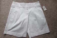 Trina Turk Ivory Cotton & Polyurethane Shorts Sz 4 NWT $160.00