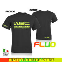 T SHIRT MAGLIA WRC RALLY AUTO MOTO TUNING WORLD IDEA REGALO FLUO UOMO DONNA