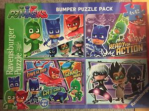Ravensburger PJ Masks Bumper Jigsaw Puzzle 4 X 42 pieces