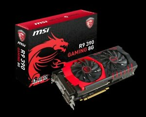 MSI AMD Radeon R9 390 8192 MB Gaming 8G Graphics Card