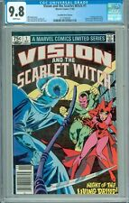 VISION AND THE SCARLET WITCH #1 CGC 9.8 WP WHIZZER/VARIANT/WANDA VISION/MOVIE