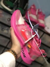 Nike X Off White Zoom Fly Tulipán Rosa UK 8/EU 42.5 - Listo Para Enviar