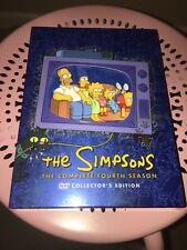 The Simpsons ~ The Complete 4th Fourth Season 4 Four ~ BRAND NEW 4-DISC DVD SET