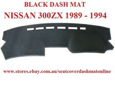DASH MAT, BLACK DASHMAT TO FIT NISSAN 300ZX 1989-1994, BLACK