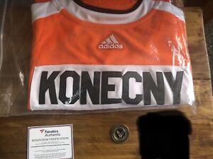 Travis Konecny Adidas Pro Autographed Jersey