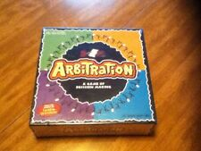 New Arbitration Board Game - All things Equal- 2003- A Game Of Decision Making