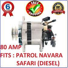 Alternator with Pump for Nissan Patrol TD42 RD28 Diesel GQ Y60 GU Y61
