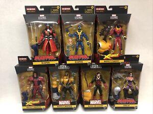 Marvel Legends Deadpool Wave 3 Strong Guy BAF SET of 7 Figures