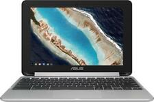"Asus - Flip C101PA 2-in-1 10.1"" Touch-Screen Chromebook - Rockchip - 4GB Memo..."