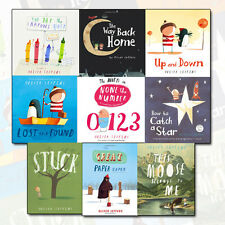 Oliver Jeffers 9 Books Collection Set Pack The Day The Crayons Quit, Stuck NEW