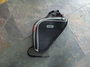 Abus Basico ST 5200 Fahrrad Rahmentasche schwarz  für Handy und Pumpe Neu