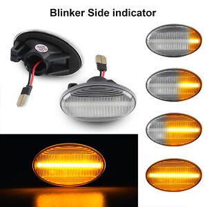 For Benz Smart W450 W452 W168 Vito W639 Seqential LED Side Marker Blinker Lights