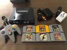 NTSC Nintendo 64 Console Bundle Includes 6 Games, 1 Controller & Leads. WOW L@@k