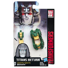 Transformers Generations Titans Return Titan Master BRAWN (B8355) by Hasbro