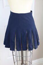 GANT RUGGER Pleated Navy Cheer Skirt, Size 38