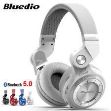 Bluedio T2S Bluetooth 5.0 Headphone Wireless Foldable With Mic FM Radio Headset
