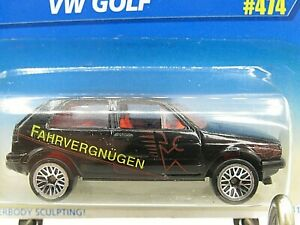 HOT WHEELS VHTF BLUE CARD SERIES VW GOLF #474