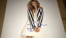Dianna Agron Sexy Actress Hand Signed 11x14 Autographed Photo COA Glee