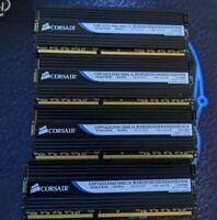 Corsair Dominator 32gb 4 x 8GB DIMM 1600 MHz DRAM Memory CMP32GX3M4X1600C10
