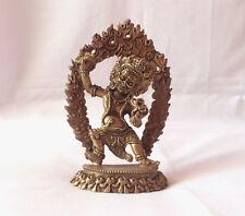 """Vajrapani Warthful Buddhist 3.5""""H Statue"""