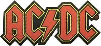 "AC/DC AUFNÄHER / PATCH # 64 ""LOGO"""