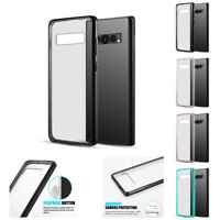 FOR SAMSUNG GALAXY S10 2019 TRANSPARENT TPU GEL/HARD CASE COVER+STYLUS/PEN