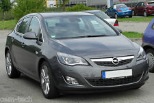 OPEL Astra J  SEAT COVERS PERFORATED LEATHERETTE