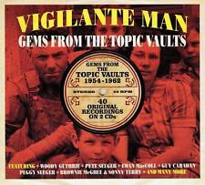 VIGILANTE MAN - GEMS FROM THE TOPIC VAULTS 1954-1962 (NEW SEALED 2CD)