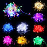 50FT/15M 200 LED Christmas Tree Fairy String Party Lights Lamp Xmas Waterproof